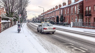 Streets Of Dublin In Winter-101