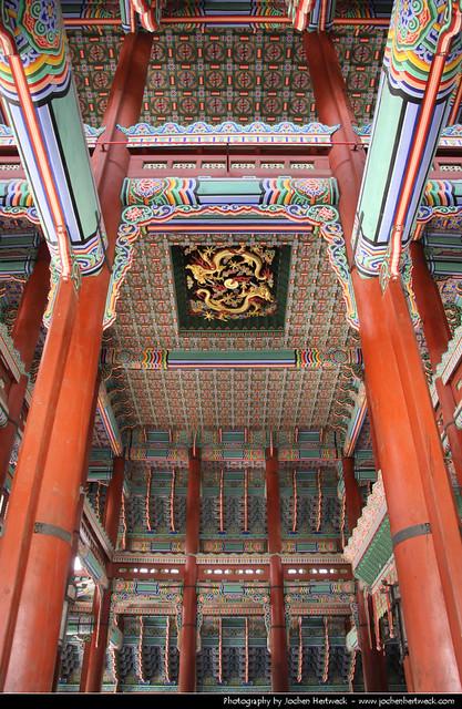 Geunjeongjeon, Gyeongbokgung Palace, Seoul, South Korea