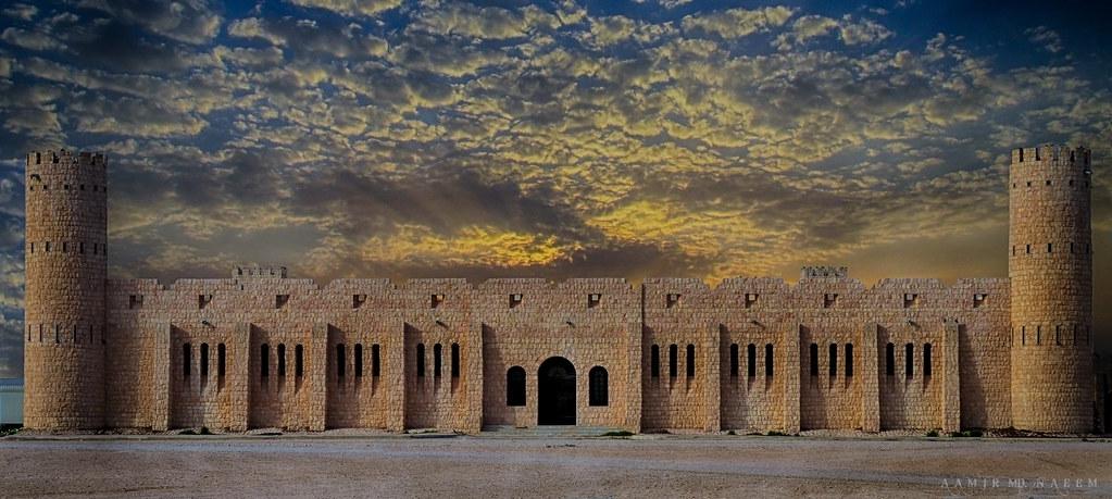 Sheikh Faisal Bin Qassim Al-Thani Museum | Two shots blendin… | Flickr