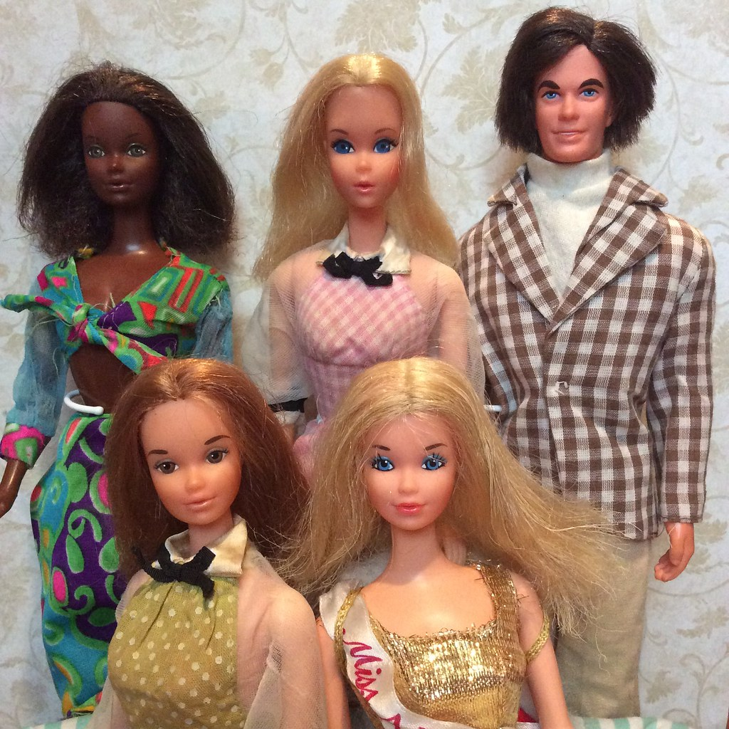 look good shoes sale outlet store sleek Quick Curl Cara, Barbie, Kelley, Miss America and Mod Hair ...