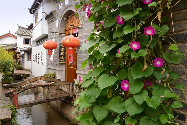 Inn Front of Old Town,  Lijang (丽江), Yunnan Province (云南省), China (中国)