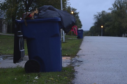 Some Holts Summit residents oppose compulsory trash bag plan | by KOMUnews