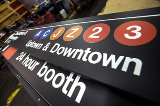 New York City Transit Sign Shop | by MTAPhotos
