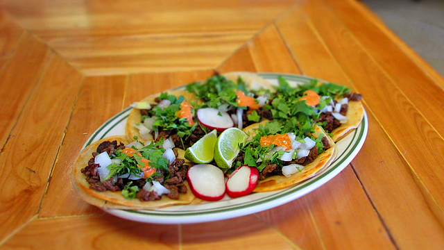 One Dollar Tacos from Marthas Cookery in Des Moines, Iowa
