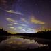 Stars Over Pendleton Lake by John Willson