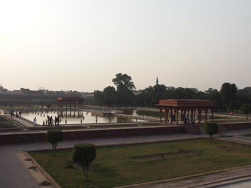 Fountains @ Faiz Bakhsh terrace @ Shalimar Gardens @ Lahore