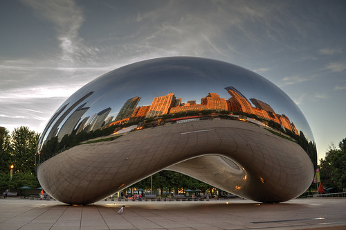 The Bean at Sunrise | by sousmarin