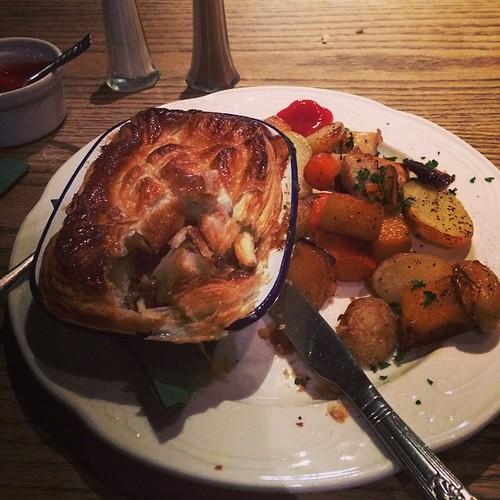 Steak Pie - would recommend it @thebutterflyandpig on Bath St Glasgow - very tasty #food #glasgow #igersscotland #igers #igerslondon