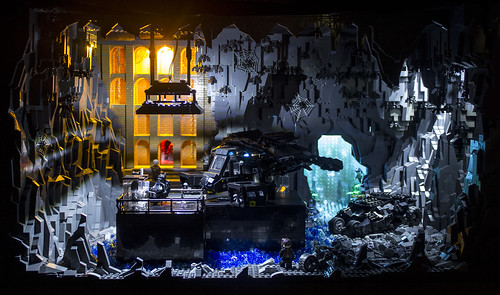 Dark Knight Rises Batcave