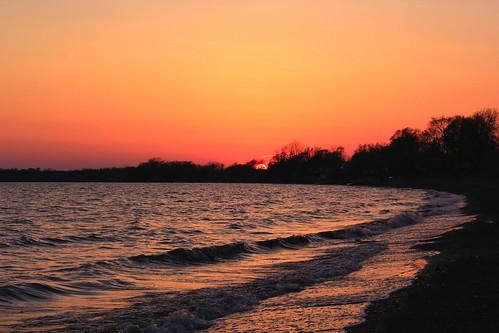 sunset canon lakeerie longbeach