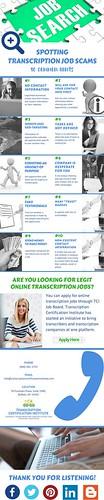 Spotting Transcription Job Scams- 10 Common Hints | by Transcription Certification Institute