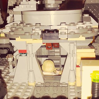 Lego millennium falcon turret chamber | by grumskrimpies