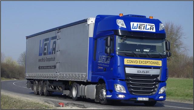 Daf_XF Euro 6, 460 Super Space Cab, Weila Transporte GmbH, Teising (D)