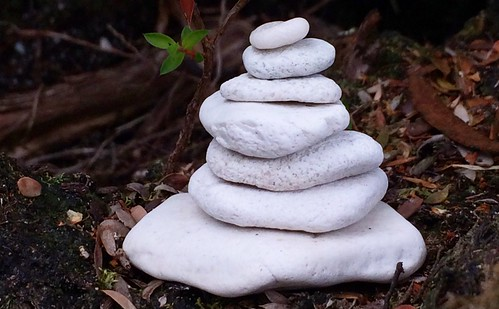 Stone stack for Juleen. Balmoral Beach. Bathurst Channel, Port Davey. Tasmania. | by miaow