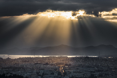 athens greece sun sunset light landscape city clouds sky alexandrosmaragos αλέξανδροσμαραγκόσ