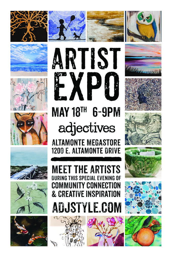 Artist Expo at Adjectives in Altamonte Springs