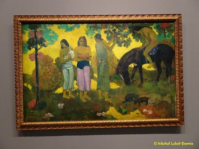 Paul Gauguin - Ruperupe(la cueillette des fruits), Gathering fruit, Tahiti Papeete, 1899