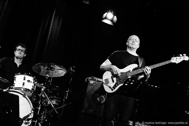 Philipp Kopmajer: drums / Julian Crampton: bass