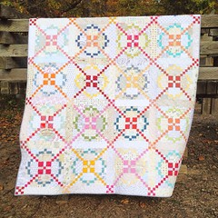 APQ Quilt Along pattern from American Patchwork and Quilting magazine, Feb 2014.