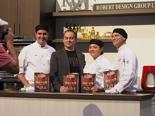 St. Piux X Culinary Team at Taste Canada Cooks The Books | by LexnGer