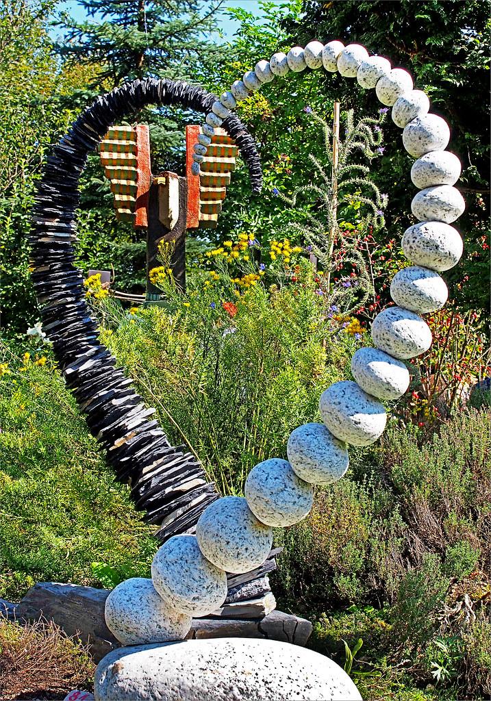 5 Ausstellung Kunst Im Garten Skulptur Naturstein Arti Flickr