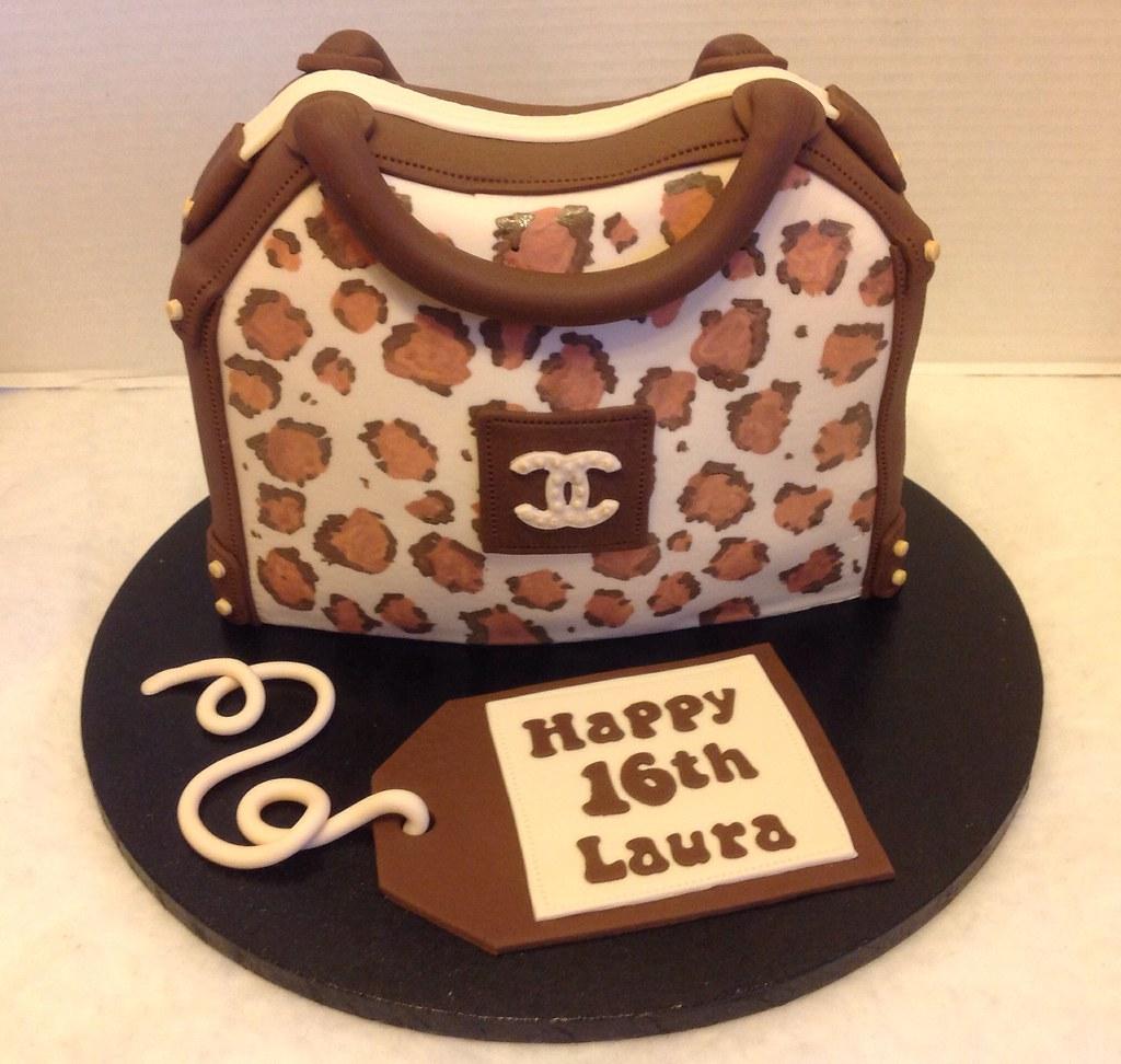 Amazing Leopard Print Birthday Cake Liz Flickr Funny Birthday Cards Online Aeocydamsfinfo