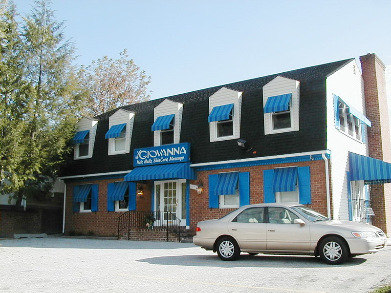 Window Awnings-Storefront