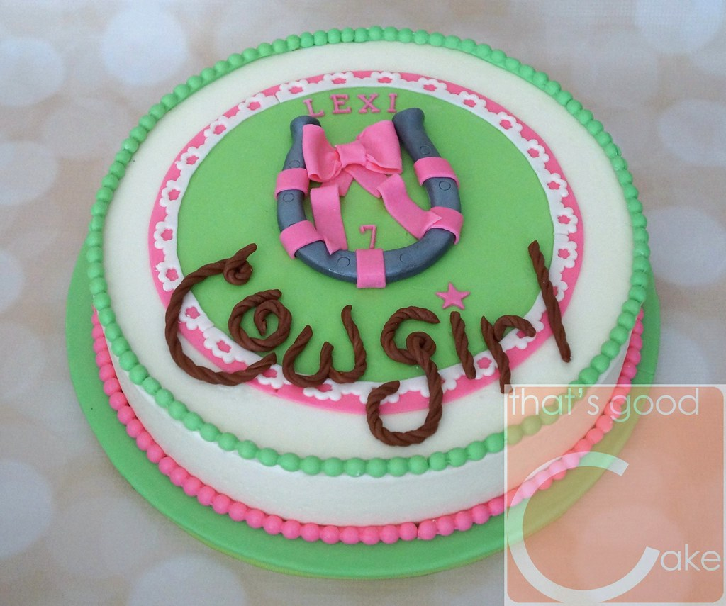 Marvelous Cowgirl Birthday Cake Happy 7Th Birthday Cowgirl Lexi 12 Flickr Personalised Birthday Cards Bromeletsinfo