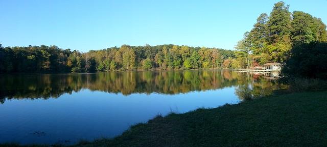 Morning walk at Umstead park