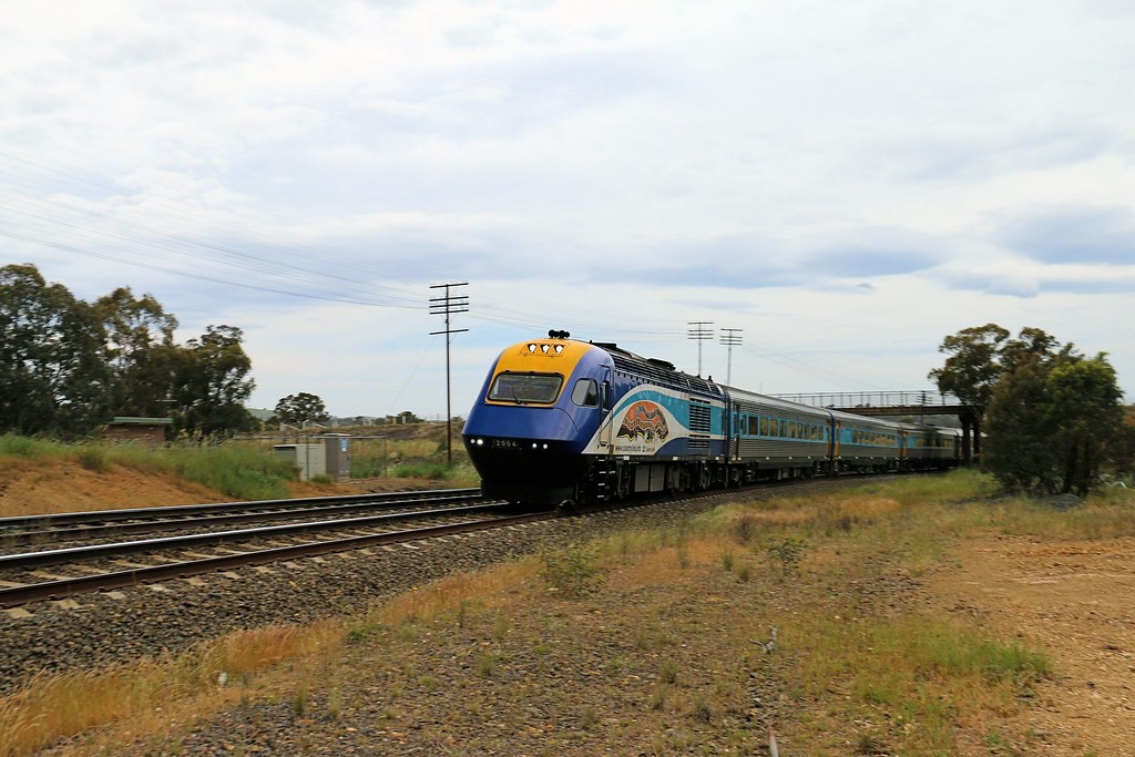 XPT under Lachlan Valley Way by Jungle Jack
