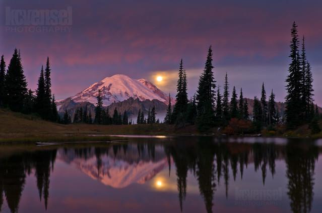 Tipsoo Lake & Moon