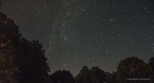 Milky Way and Andromeda Galaxy...   by meteorio_nek