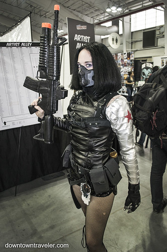 NY Comic Con 2014 Winter Soldier Cosplay | by Downtown Traveler