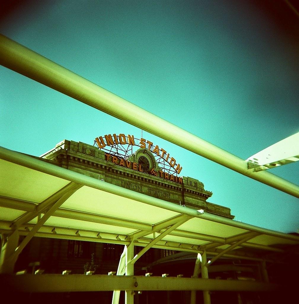 Denver Zephyrs: California Zephyr - Denver Station Sign