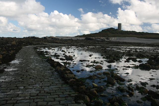 Lihou Island causeway