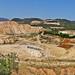 Greece,  Macedonia, the old magnesite mine of Gerakini, Chalkidiki