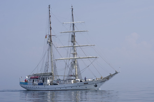 The sail training ship