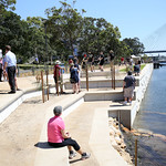 Glebe foreshore walkway launch