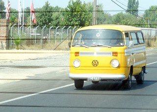 Volkswagens in Chile - through the rear view window