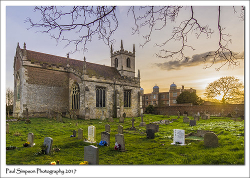 doddingtonhall stpeters doddington religion church graves graveyard headstones lincolnshire sonya77 trees sunset photoof photosof imagesof imageof paulsimpsonphotography grass evening february2017