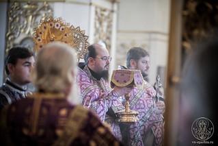 Литургия в Покровском соборе 280