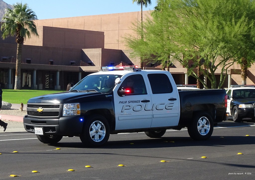 Palm Springs Ca Police Chevrolet Silverado Hybrid 9 Flickr