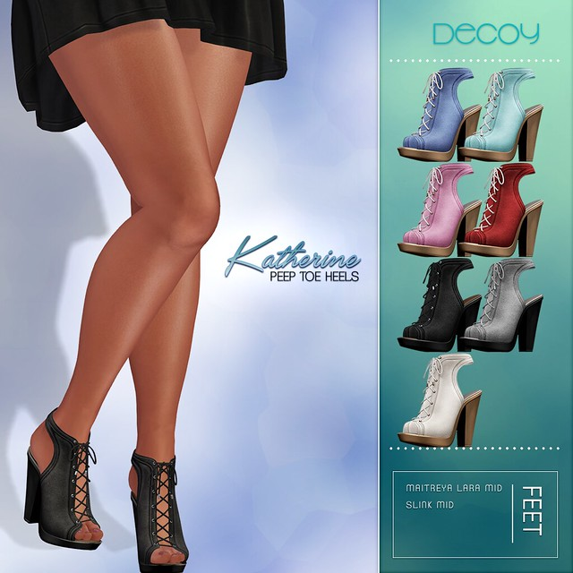 Decoy Katherine Heels