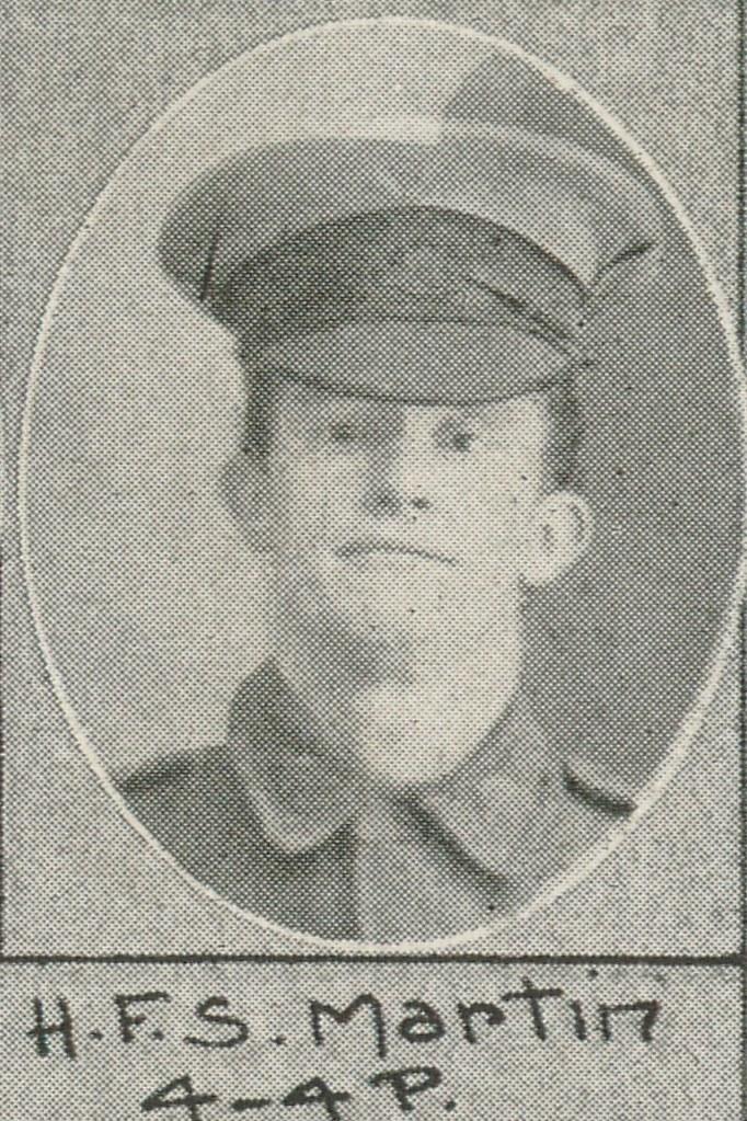 Martin,  Henry Francis Samuel, Private - 16 February 1917