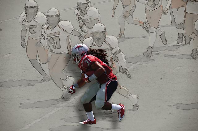 American Football Art