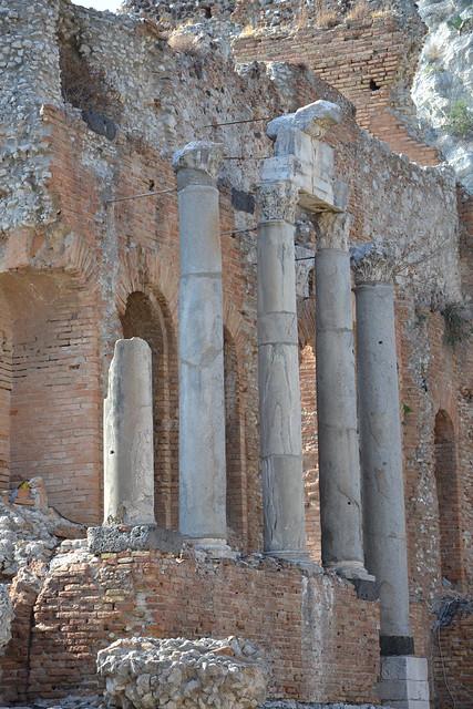 théâtre antique de Taormine, Sicile