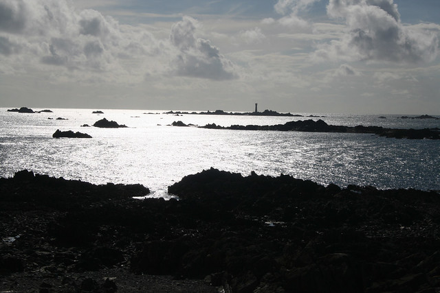 View out to sea from Lihou Island