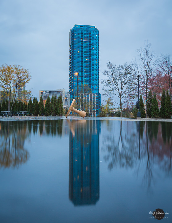 Reflections at the The Aga Khan Museum, Toronto, Ontario