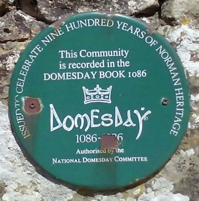 Doomsday Book Plaque.