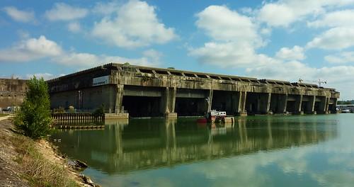 Ancienne base sous marine allemande de Bordeaux